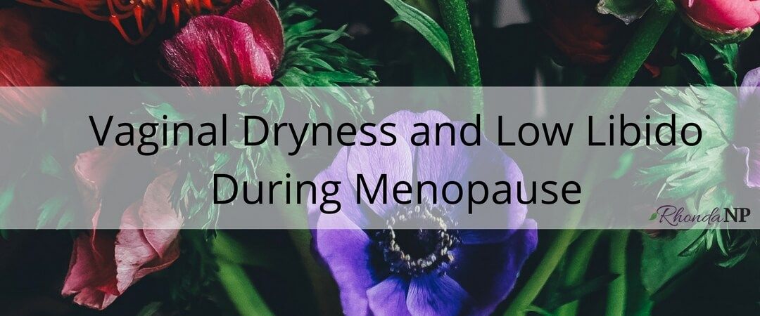 026: Vaginal Dryness and Low Libido During Menopause